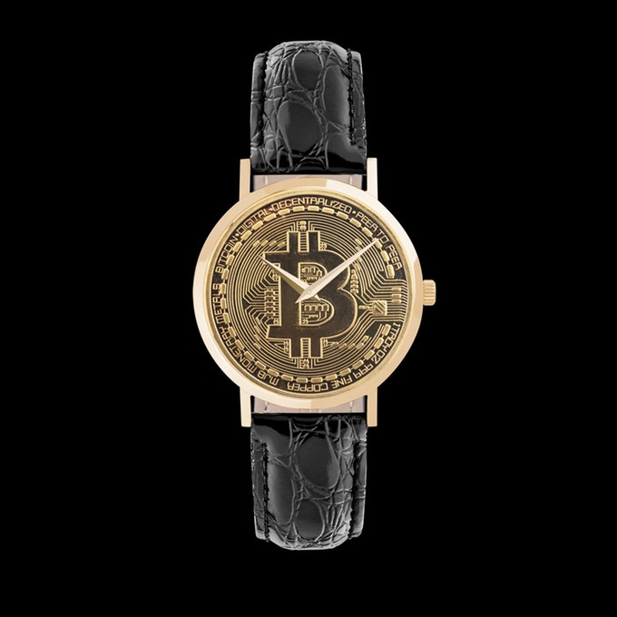 Bitcoin Watch Gold Series V2