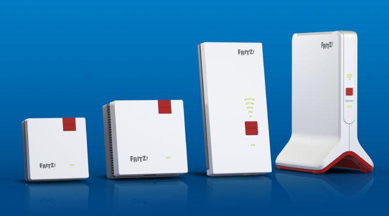 Vier neue WLAN-Mesh-Repeater für mehr Leistung im WLAN
