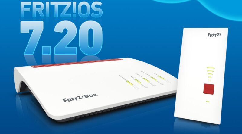 neues FRITZ!OS 7.20 mit relevanten Neuerungen für schweizer FRITZ!Box-Anwender