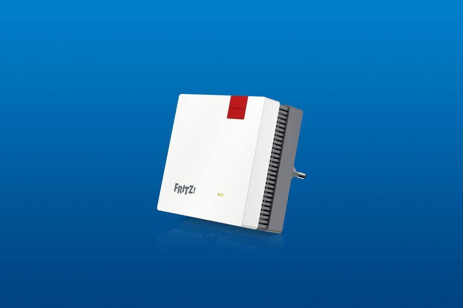 AVM Marktstart FRITZ!Repeater 1200 für optimale Verbindungen im WLAN Mesh von FRITZ!