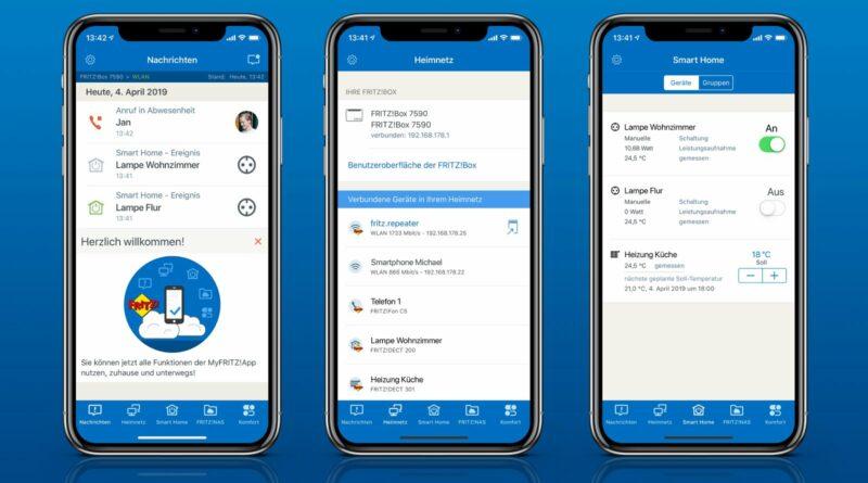Runderneuerte MyFRITZ!app von AVM für iOS ab sofort verfügbar
