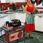 Ad for Portable music in 1954.