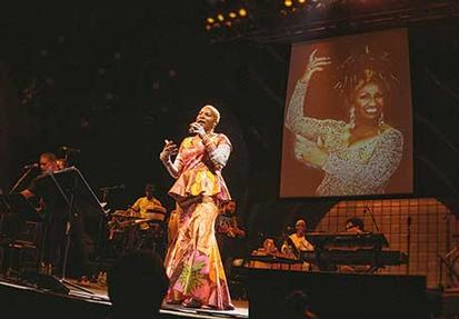 Angélique Kidjo «Tribute to Celia Cruz»