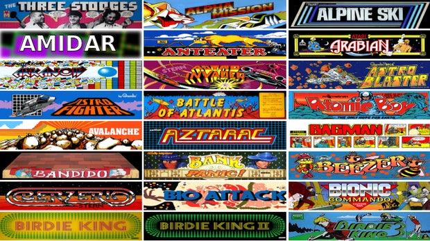 900 Arcade-Games