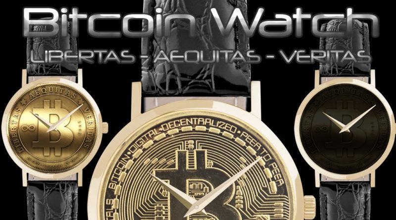 Bitcoin meets Swiss Watches