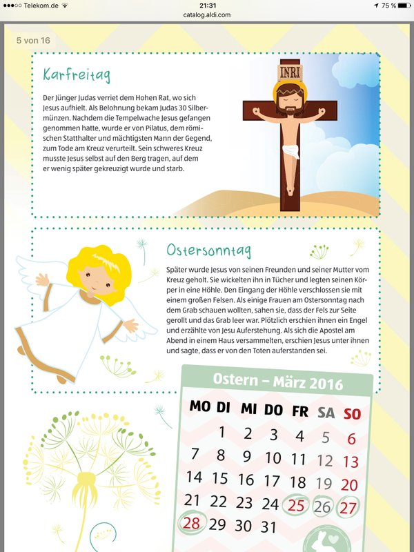 Aldi und Religion