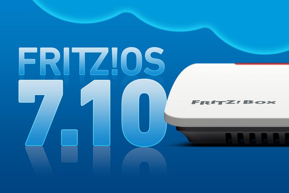 Update auf FRITZ!OS 7.10 für FRITZ!Box