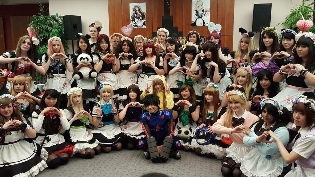 Japan Festival Maid Cafe