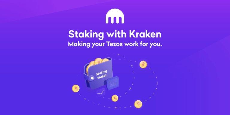 Kraken bietet ab Freitag, dem 13. Dezember 2019, das Staking auf der Kryptowährung Tezos (XTC) an.