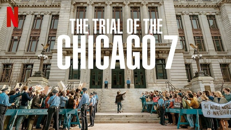 The Trial of the Chicago 7 ist ein Thriller von Aaron Sorkin, der am 16. Oktober 2020 bei Netflix erschien.
