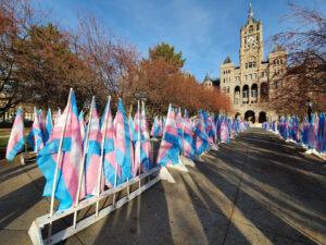 """Der Transgender Day of Remembrance, auf Deutsch """"Gedenktag für die Opfer von Transphobie"""", ist ein jährlich am 20. November stattfindender Gedenktag, an dem der Opfer transphober Gewalt gedacht und auf diese Problematik aufmerksam gemacht wird."""