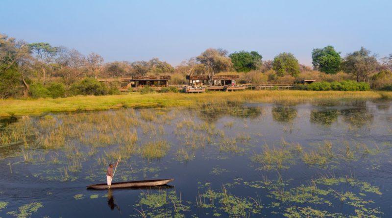 Drohenbild Botswana (c) Rhino Africa