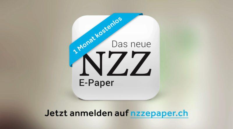 NZZ ePaper
