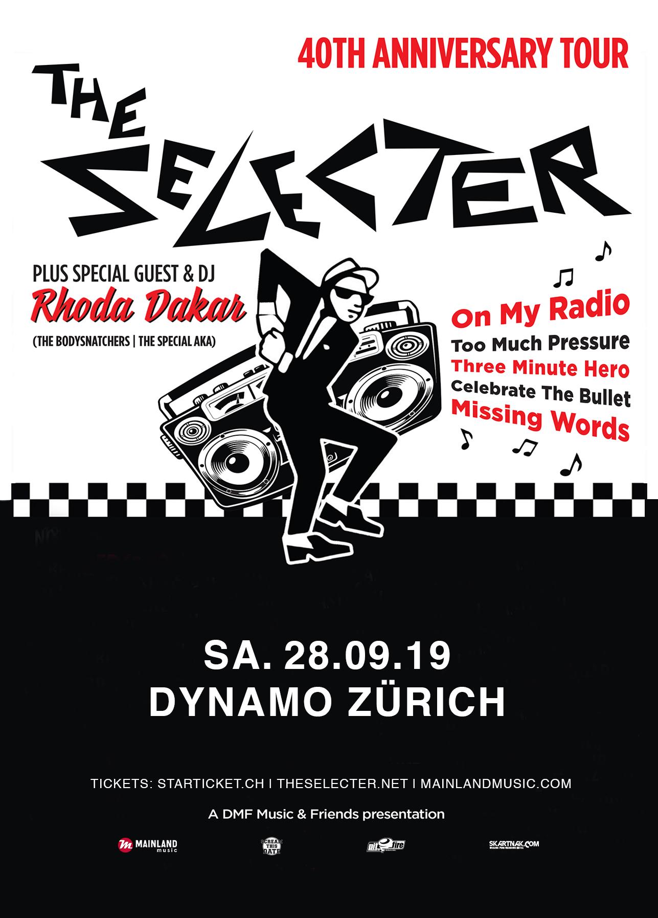 The Selecter, die legendäre Ska-Band aus Coventry kommt im Rahmen ihres 40-jährigen Bandjubiläums nach Zürich.