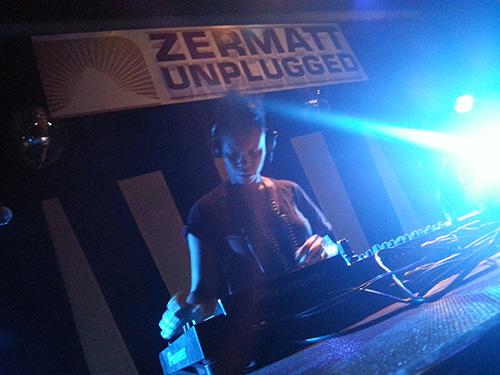DJ Skin, Vernissage, Zermatt Unplugged