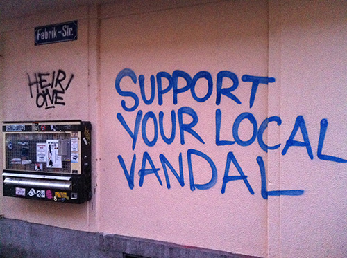 Support Your Local Vandal