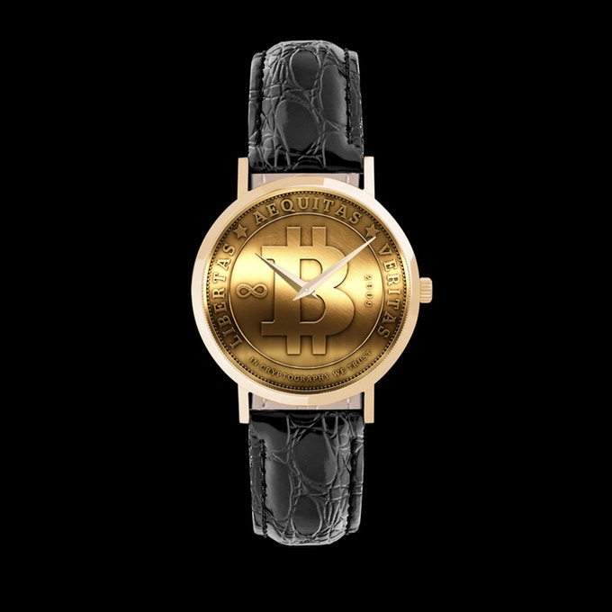 Bitcoin Watch Gold Series