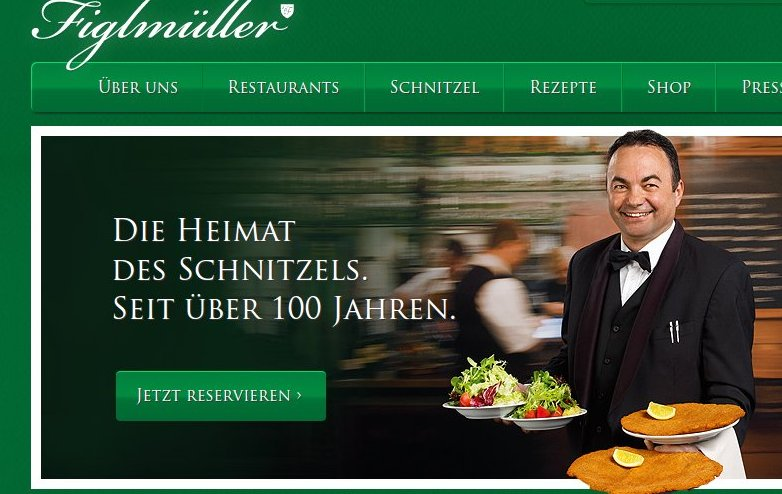 Wienerschnitzel im Figlmüller