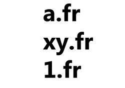 FR Domains
