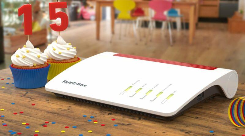 Happy Birthday: AVM feiert heute 15 Jahre FRITZ!Box