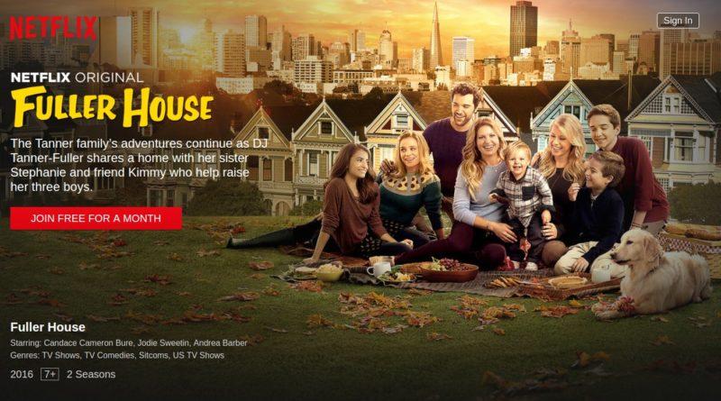 Fuller House Netflix TV Serie Titelbild