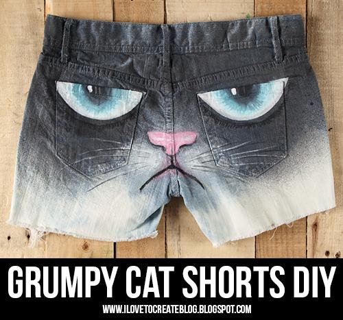DIY Grumpy Cat