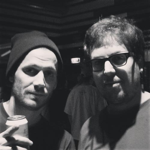 Rapper Hodn und Christian Mäder von den Bloggenden Online Nerds