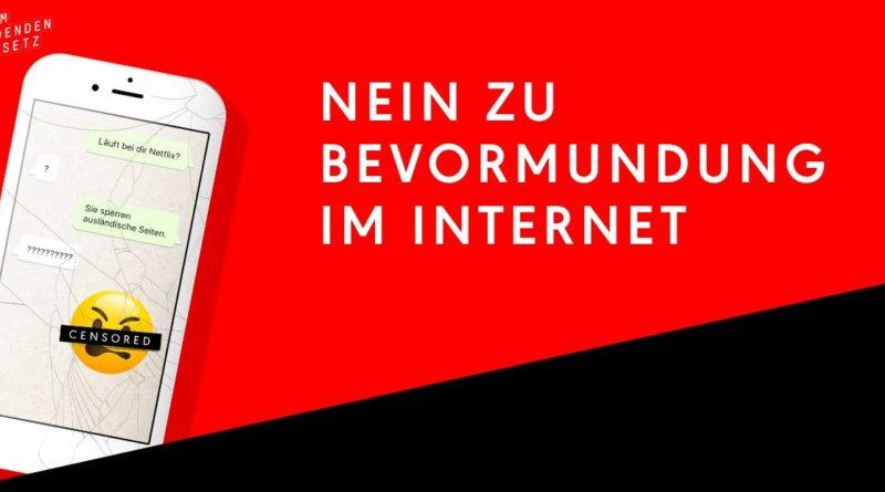 Internet Zensur Nein