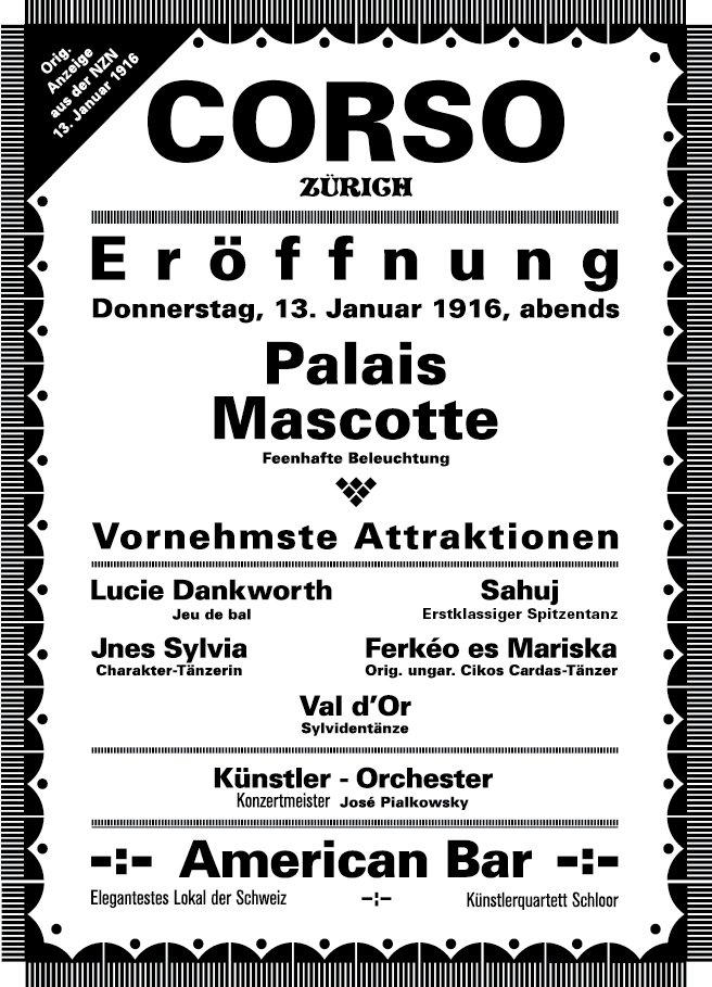 Mascotte Zürich