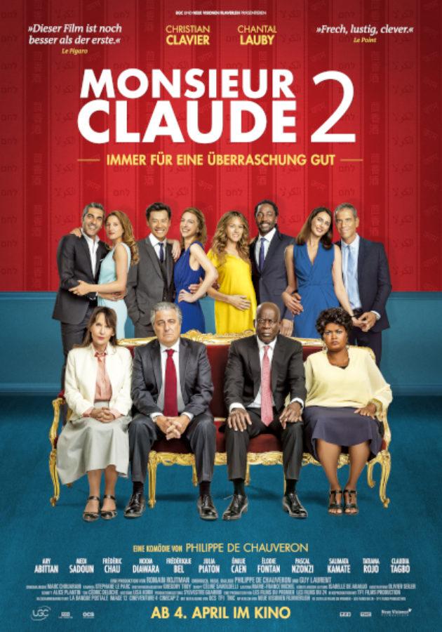 MONSIEUR CLAUDE 2 stürmt an die Spitze der Welschschweizer Kinocharts