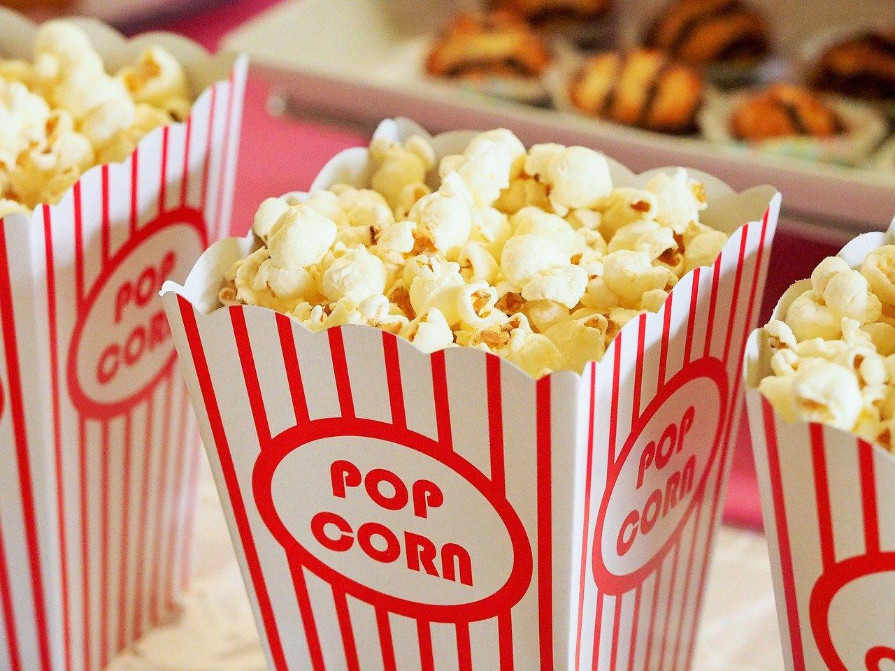 Netflix und Popcorn