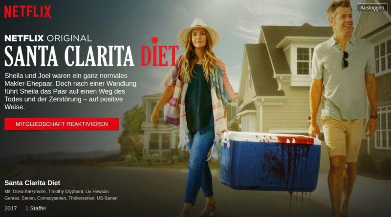 Santa Clara Diet: Netflix Serie