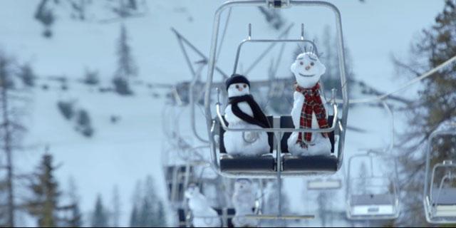 Snowman - Sessellift