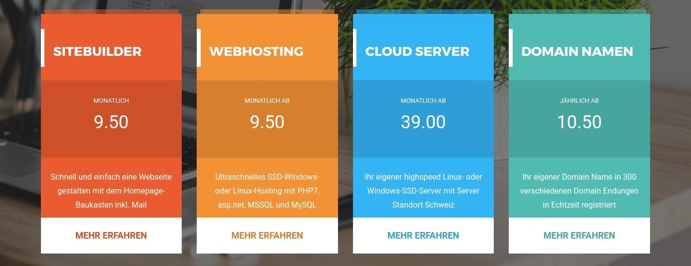 Webhosting Schweiz: Sicherheit und Qualität
