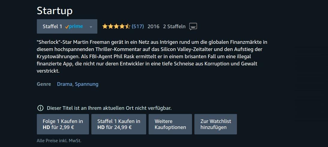 Startup Serie Deutsch
