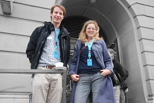 Gabriel Möhring und Valerie Thurner