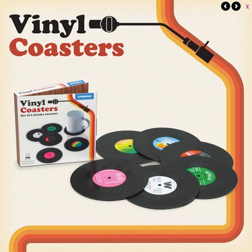 Vinyl Untersetzer