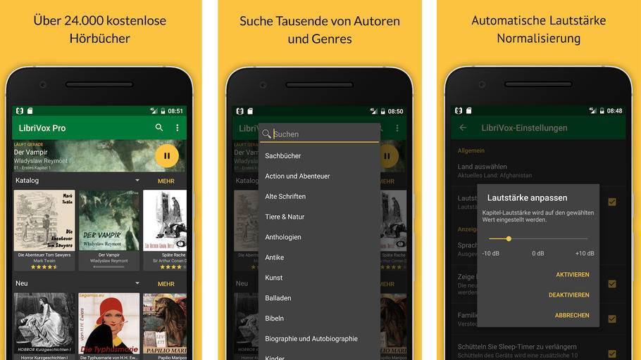 Vorleser App Android und iOS